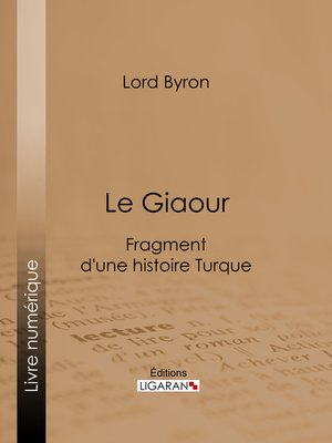 cover image of Le Giaour