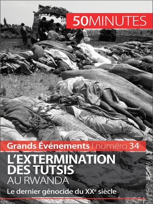 cover image of L'extermination des Tutsis au Rwanda