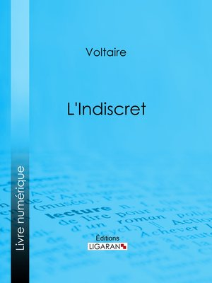 cover image of L'Indiscret