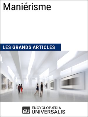 cover image of Maniérisme