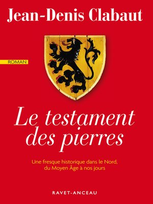 cover image of Le testament des pierres