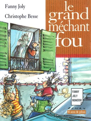 cover image of Le grand méchant fou