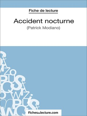 cover image of Accident nocturne