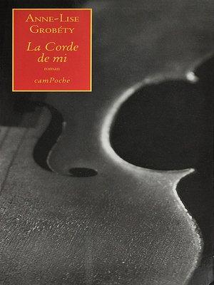 cover image of La Corde de mi