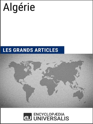 cover image of Algérie (Les Grands Articles d'Universalis)