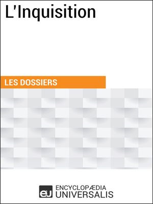 cover image of L'Inquisition