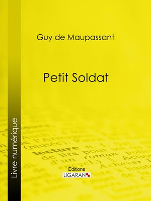 cover image of Petit soldat