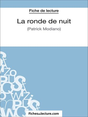 cover image of La ronde de nuit