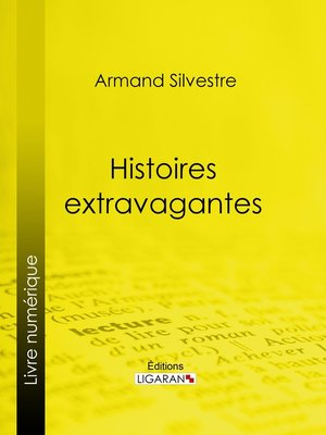 cover image of Histoires extravagantes