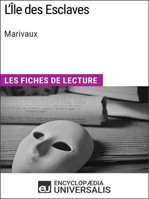 cover image of L'Île des Esclaves de Marivaux