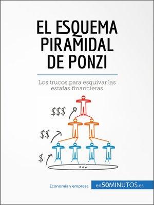 cover image of El esquema piramidal de Ponzi