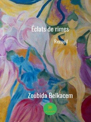 cover image of Éclats de rimes