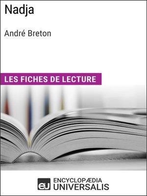 cover image of Nadja d'André Breton