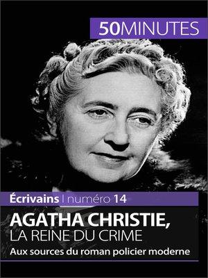 cover image of Agatha Christie, la reine du crime