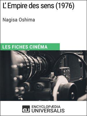 cover image of L'Empire des sens de Nagisa Oshima