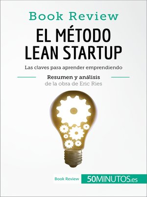 cover image of El método Lean Startup de Eric Ries (Book Review)