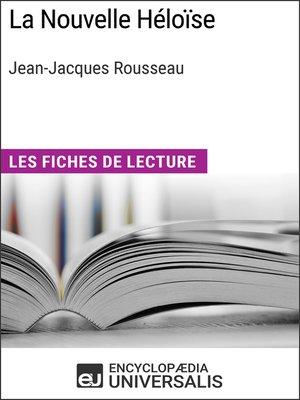 cover image of La Nouvelle Héloïse de Jean-Jacques Rousseau