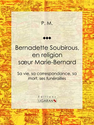 cover image of Bernadette Soubirous