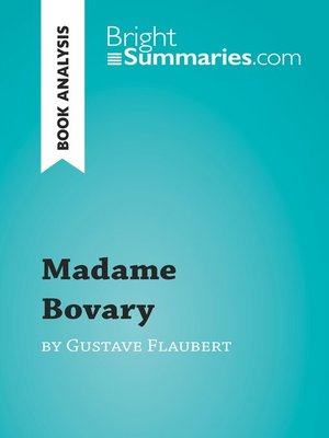 cover image of Book Analysis: Madame Bovary by Gustave Flaubert