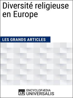 cover image of Diversité religieuse en Europe
