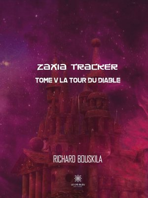 cover image of Zaxia Tracker--Tome V