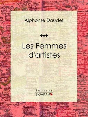cover image of Les Femmes d'artistes