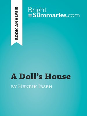 cover image of A Doll's House by Henrik Ibsen (Book Analysis)
