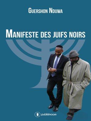 cover image of Manifeste des Juifs Noirs