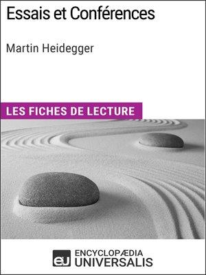 cover image of Essais et Conférences de Martin Heidegger