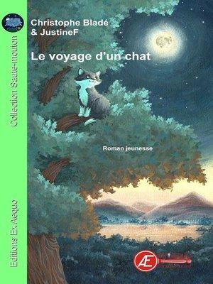 cover image of Le voyage d'un chat