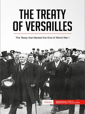 cover image of The Treaty of Versailles