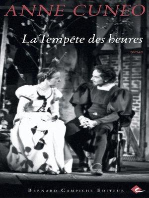 cover image of La Tempête des heures