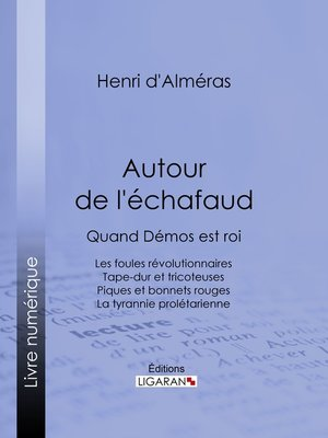 cover image of Autour de l'échafaud
