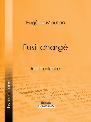 cover image of Fusil chargé