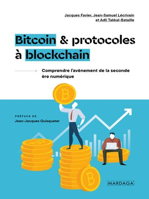 cover image of Bitcoin et protocoles à blockchain