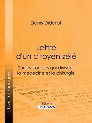 cover image of Lettre d'un citoyen zélé