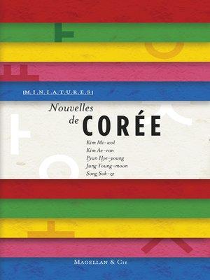 cover image of Nouvelles de Corée