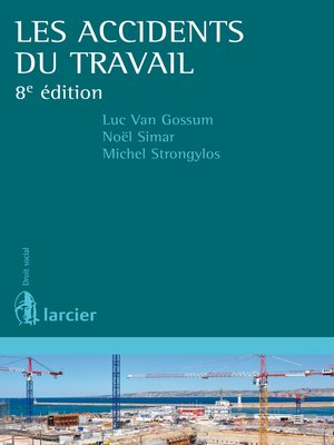 cover image of Les accidents du travail