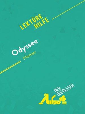 cover image of Odyssee von Homer (Lektürehilfe)
