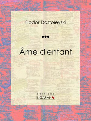 cover image of Âme d'enfant