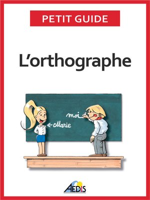 cover image of L'orthographe