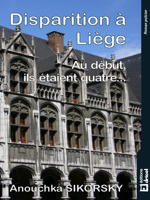 cover image of Disparition à Liège