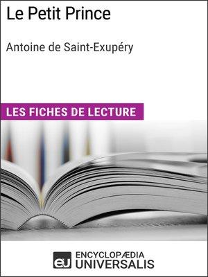 cover image of Le Petit Prince d'Antoine de Saint-Exupéry