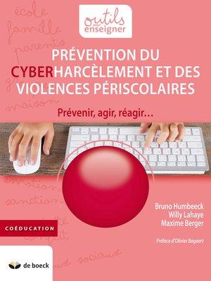 cover image of Prévention du cyberharcèlement et des violences périscolaires