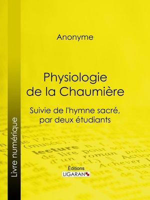 cover image of Physiologie de la Chaumière