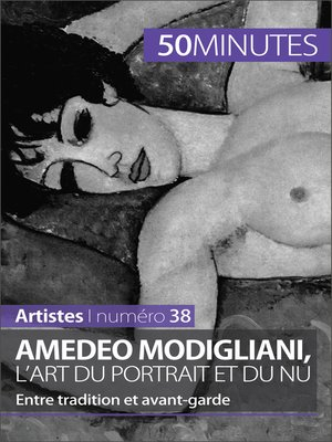 cover image of Amedeo Modigliani, l'art du portrait et du nu