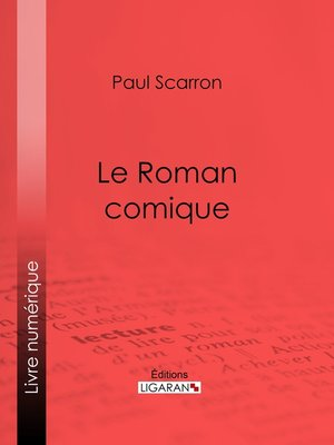 cover image of Le Roman comique