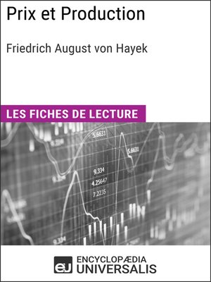 cover image of Prix et Production de Friedrich August von Hayek