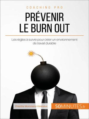 cover image of Prévenir le burn out