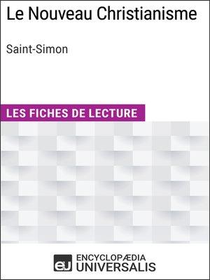 cover image of Le Nouveau Christianisme de Saint-Simon